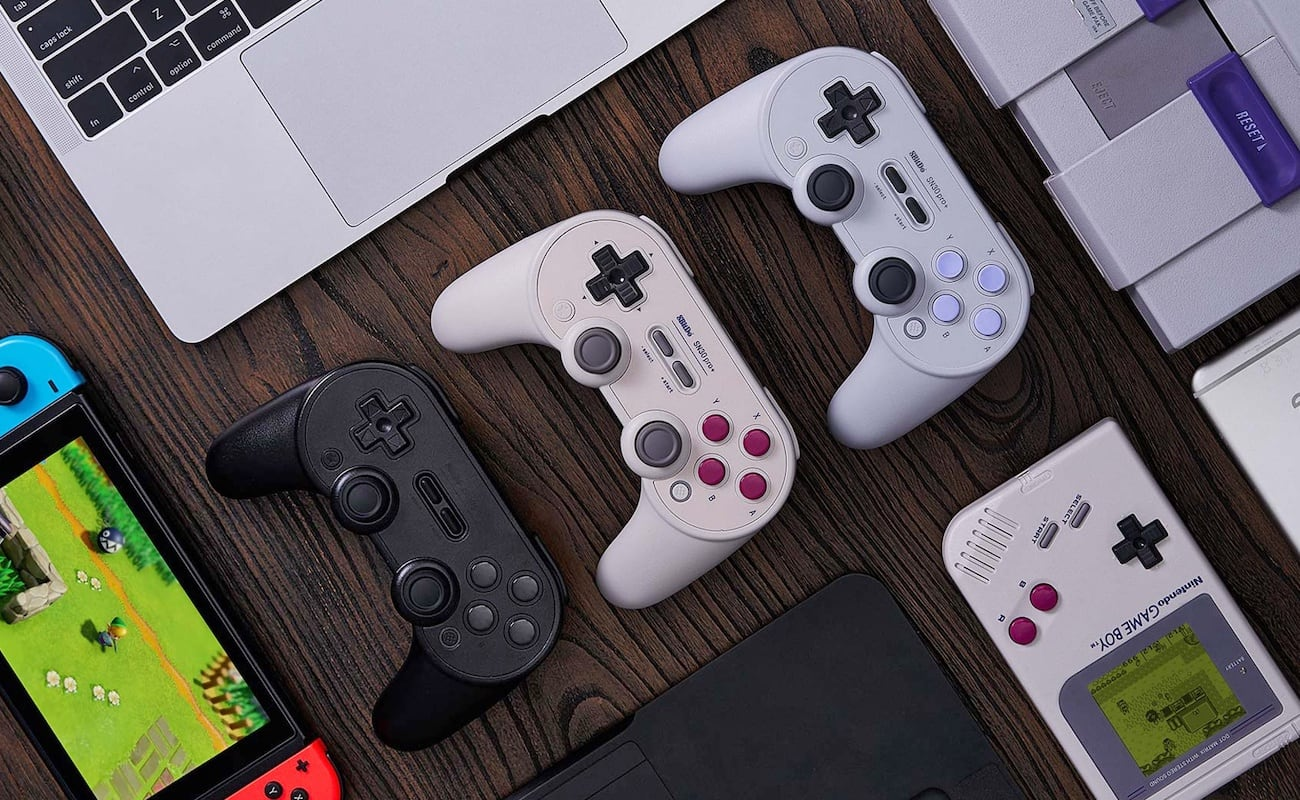 8Bitdo Sn30 Pro+ Bluetooth Gamepad gives you super customization power