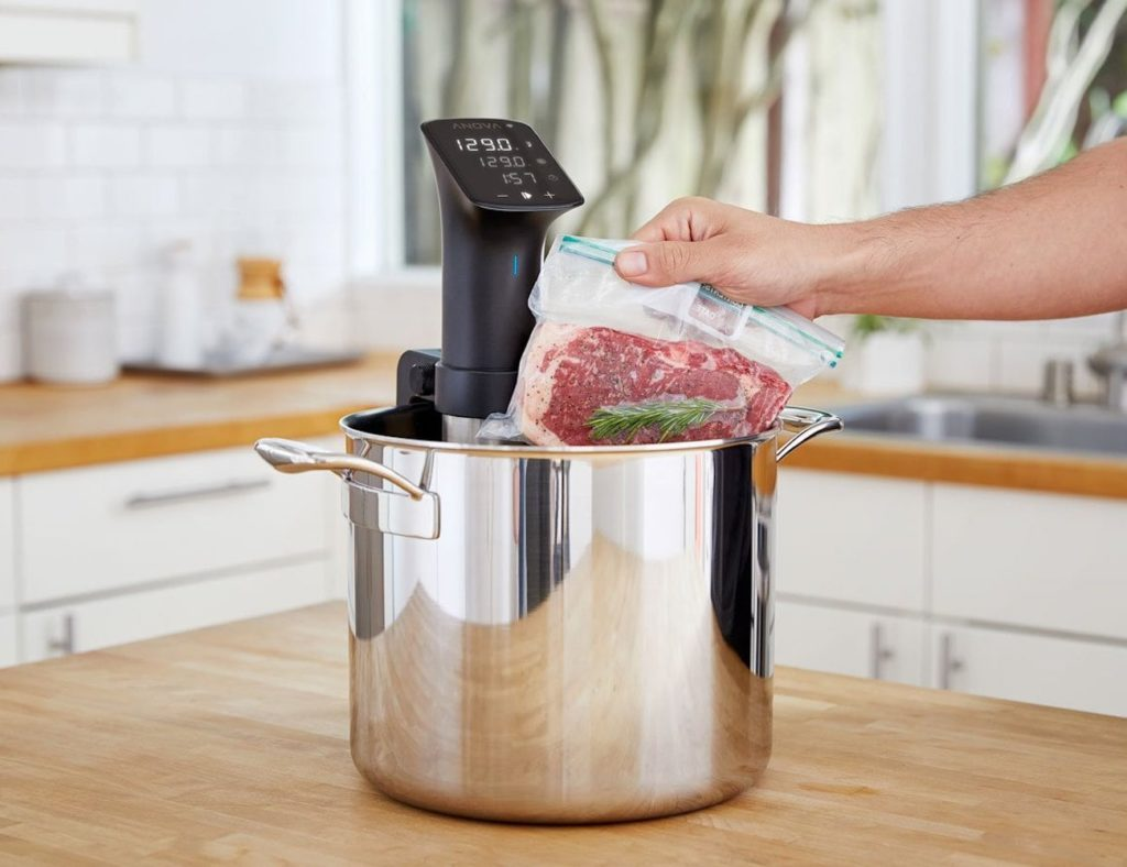 Anova+Precision+Cooker+Pro+Sous+Vide+Device+works+for+10%2C000+hours+nonstop