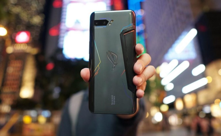 Asus ROG Phone 2 High-Performance Gaming Phone has a huge 6,000 mAh battery