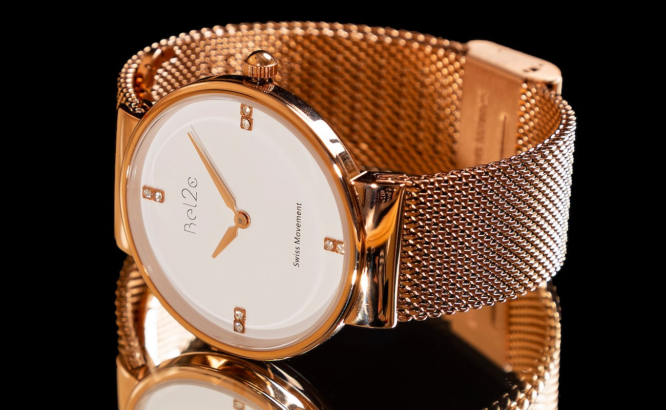 Bel2c Alice and Amos Watches Italian Timepiece Collection use high-quality components