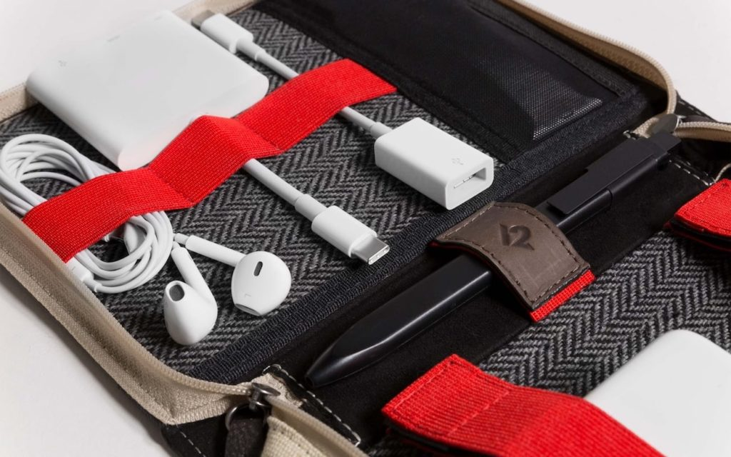 Bookbook CaddySack Cable Travel Tote