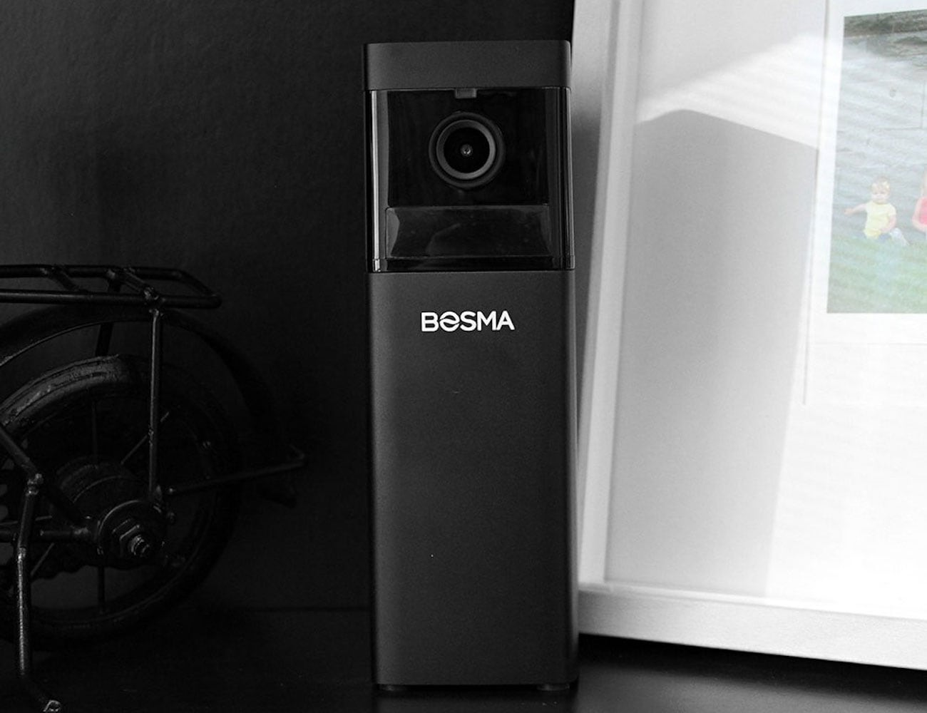 Bosma X1 Kit Wide Angle Security Camera gives you night vision in color