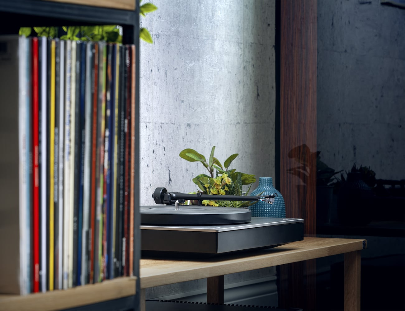 Cambridge Audio Alva TT Bluetooth Direct Drive Turntable offers a completely wireless vinyl experience