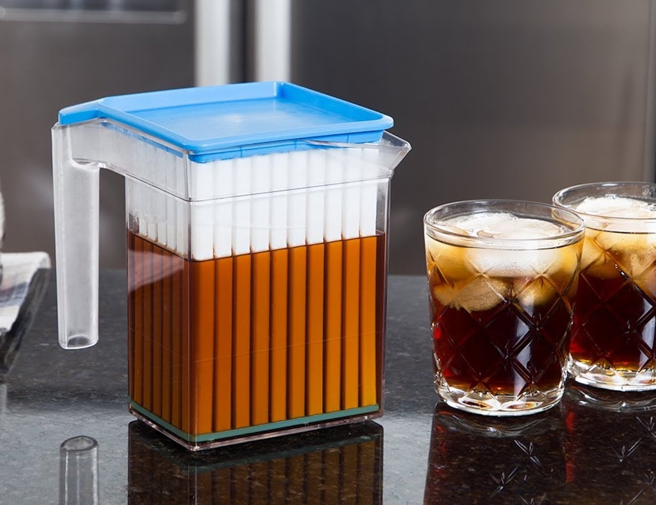 Coldwave Beverage Chiller Drink-Cooling Pitcher won't water down your drinks