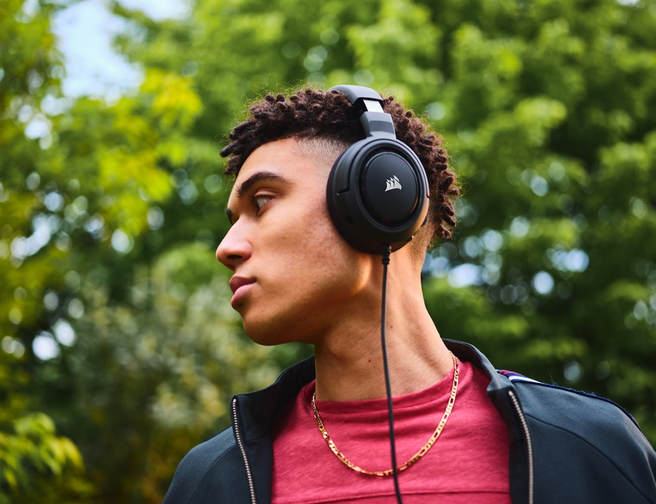 Corsair HS35 Stereo Gaming Headset is designed for your favorite gaming systems