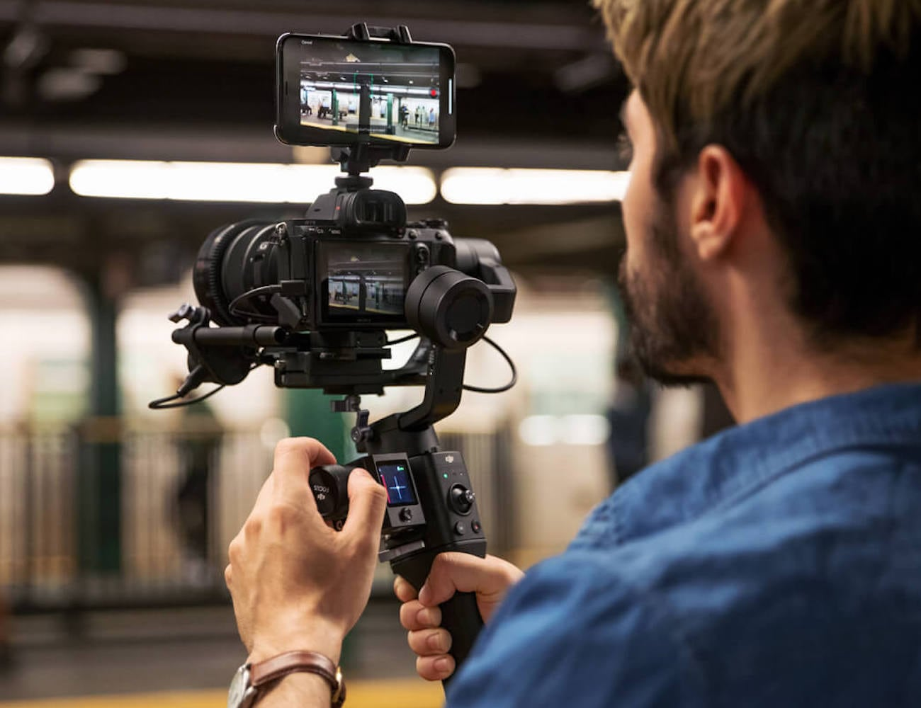 DJI Ronin-SC Single-Handed Stabilizer lets you get that professional shot
