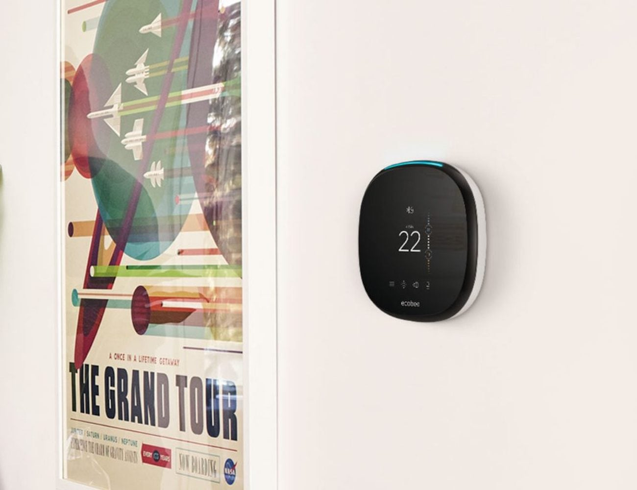ecobee4 Room-Sensing Alexa Thermostat