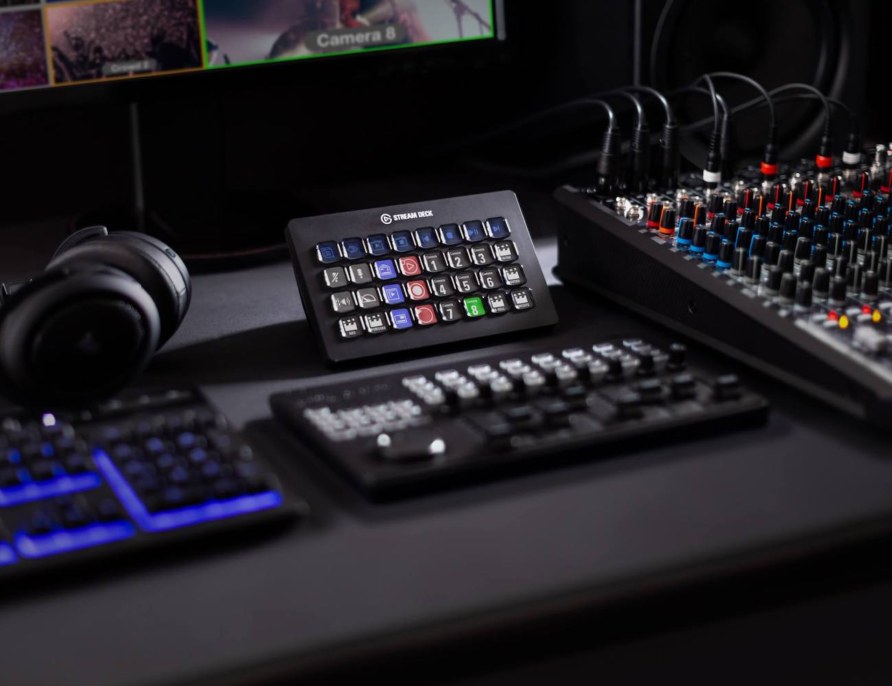 Elgato Stream Deck XL Live Content Creation Controller gives you instant power with just one touch