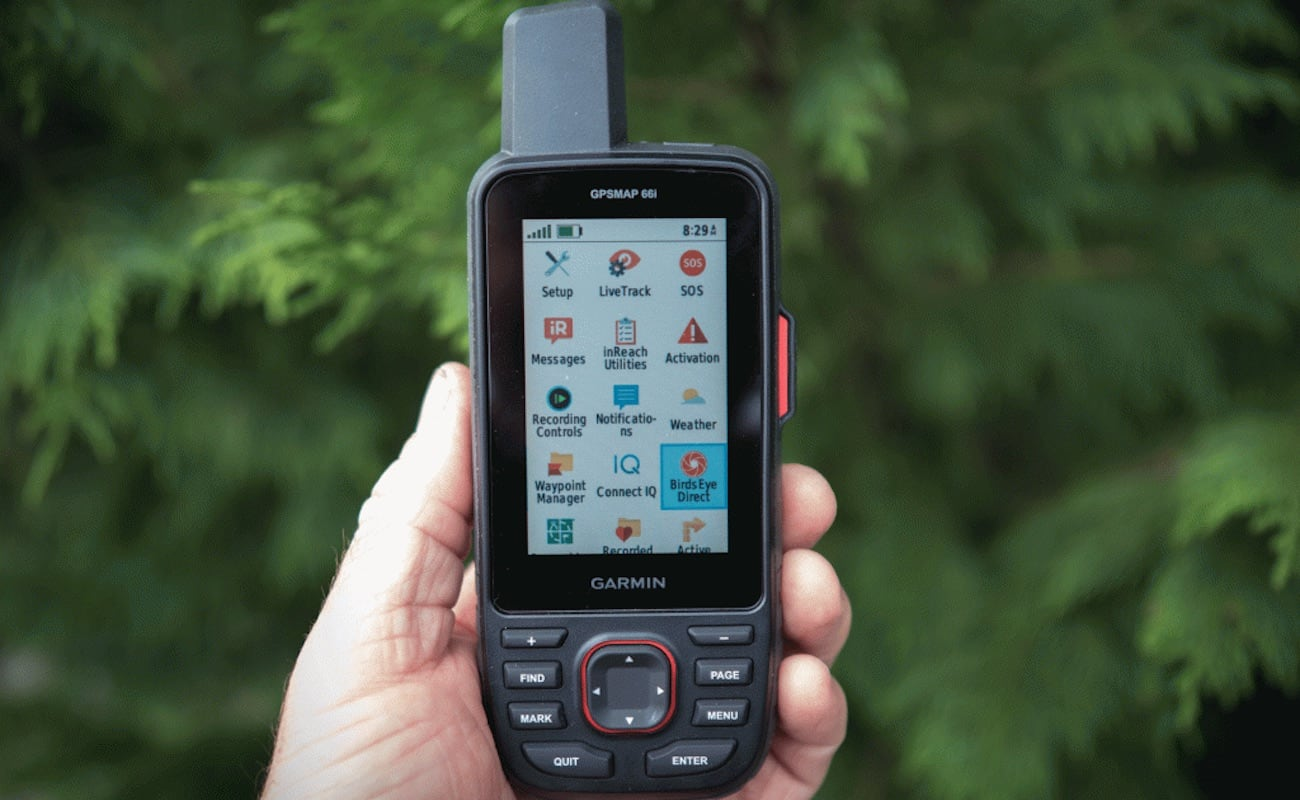Garmin GPSMAP 66i GPS Handheld Satellite Communicator helps you stay safe