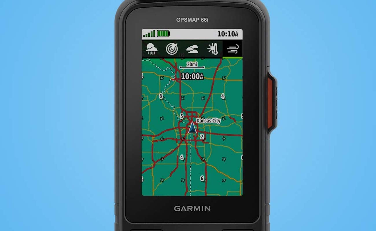 Free Garmin Maps >> This GPS handheld satellite communicator could be your ...