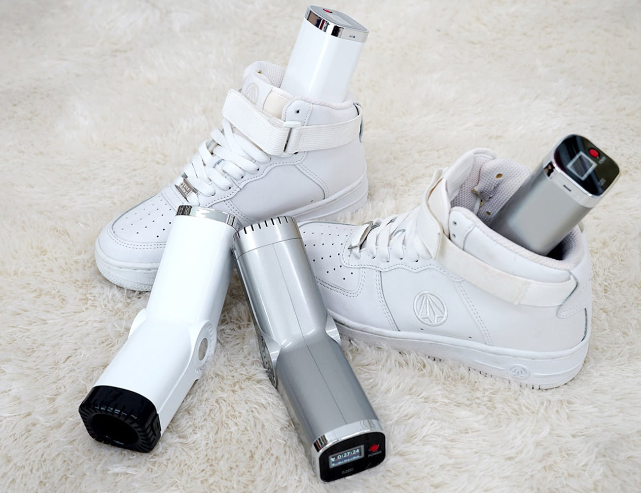 HomeCera Ceramic Shoe Dryer eliminates germs, odors, and athlete's foot