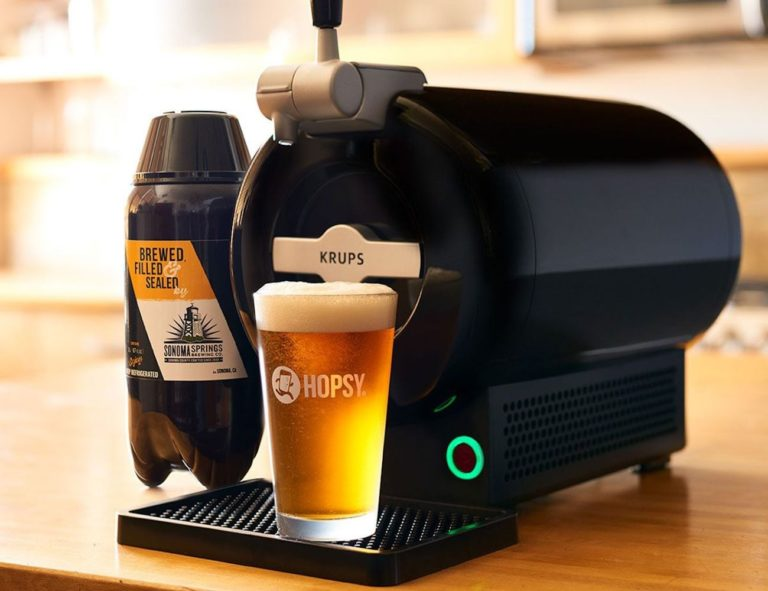 Hopsy+SUB+Home+Tap+Countertop+Draft+System+brings+the+bar+experience+to+your+dining+room
