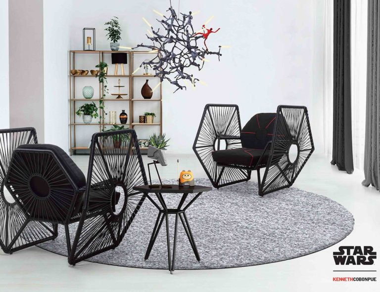 Kenneth+Cobonpue+Star+Wars+Easy+Armchair+brings+the+Force+to+your+home