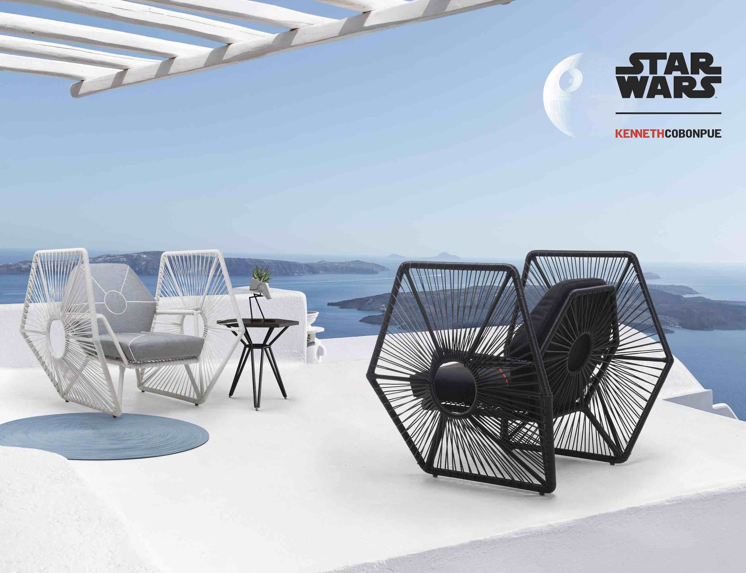 Kenneth Cobonpue Star Wars Easy Armchair brings the Force to your home