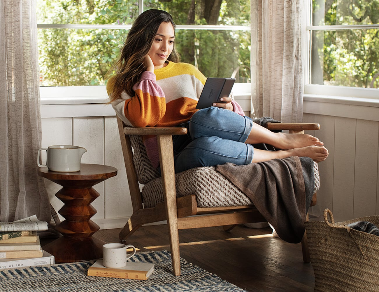 Kindle Oasis Warm Light E-reader
