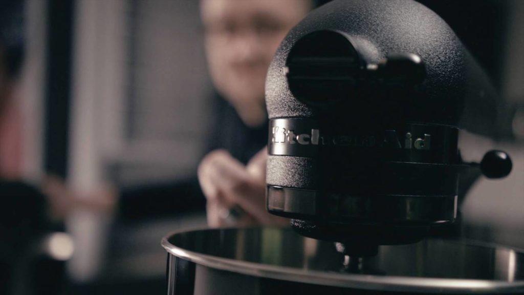 KitchenAid Artisan Black Tie Mixer