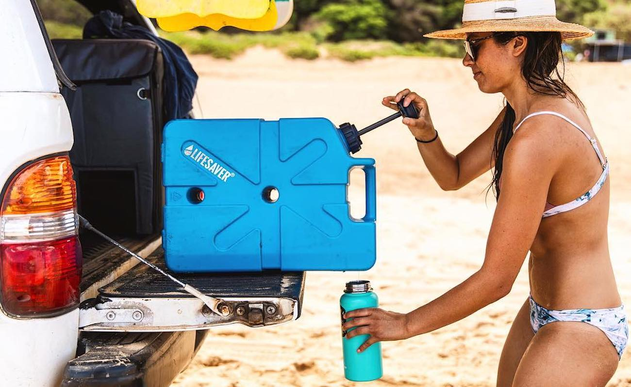 LifeSaver Jerrycan 10000UF Large Portable Water Filter can support your whole expedition