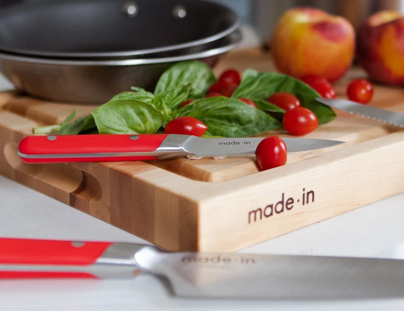Made In Knives 3-Piece Knife Set is built with nitrogen-treated blades