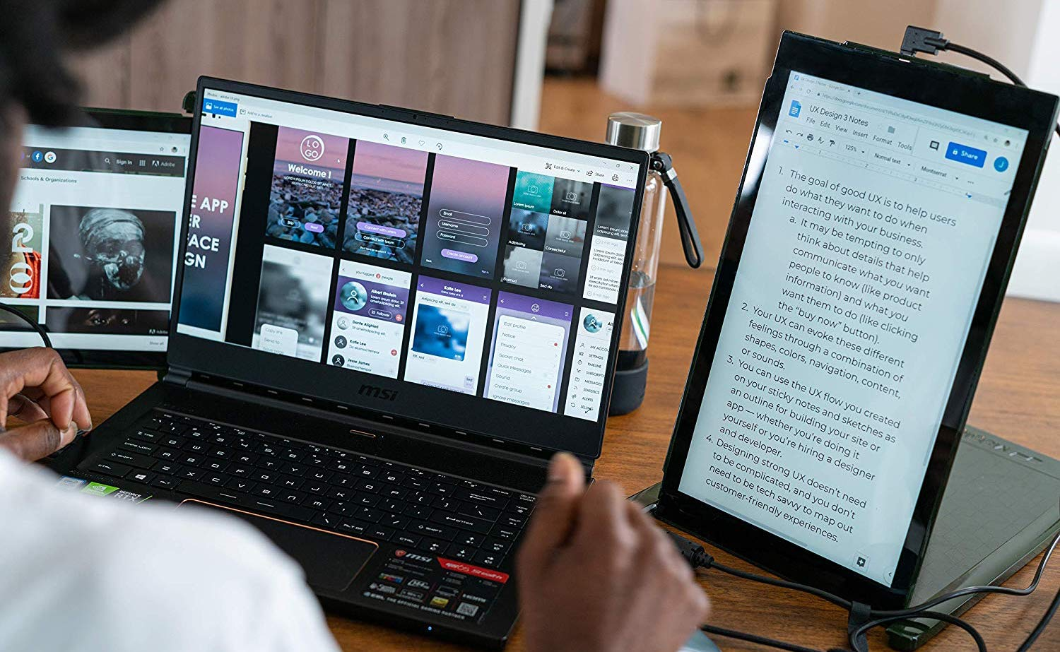 Mobile Pixels DUEX Pro Dual-Display Laptop Monitor extends your portable  screen