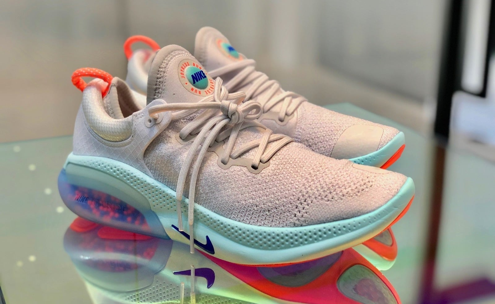 Nike Joyride Bead-Filled Shoes provide a personalized cushion