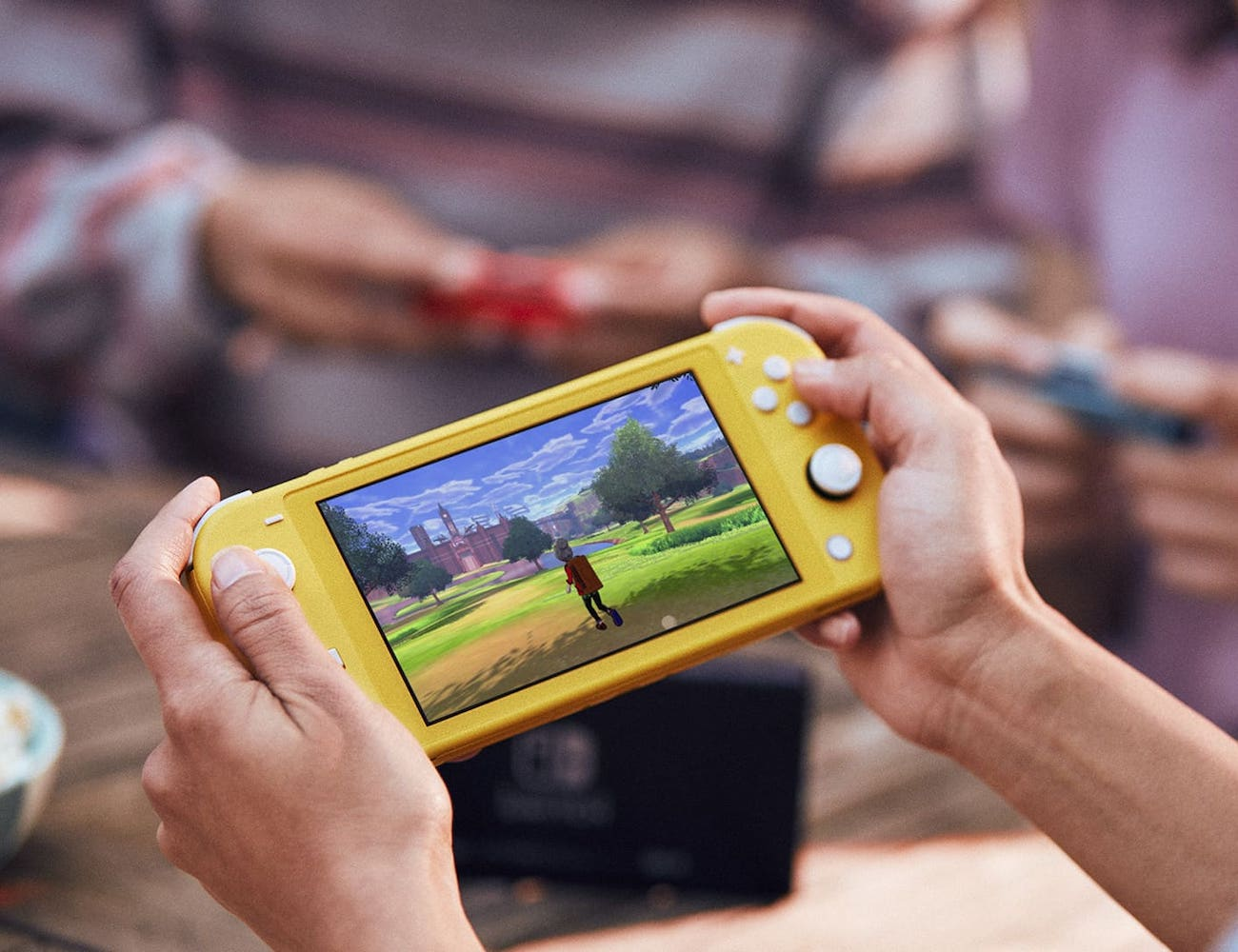 Nintendo Switch Lite Handheld Gaming Console lets you play on the go