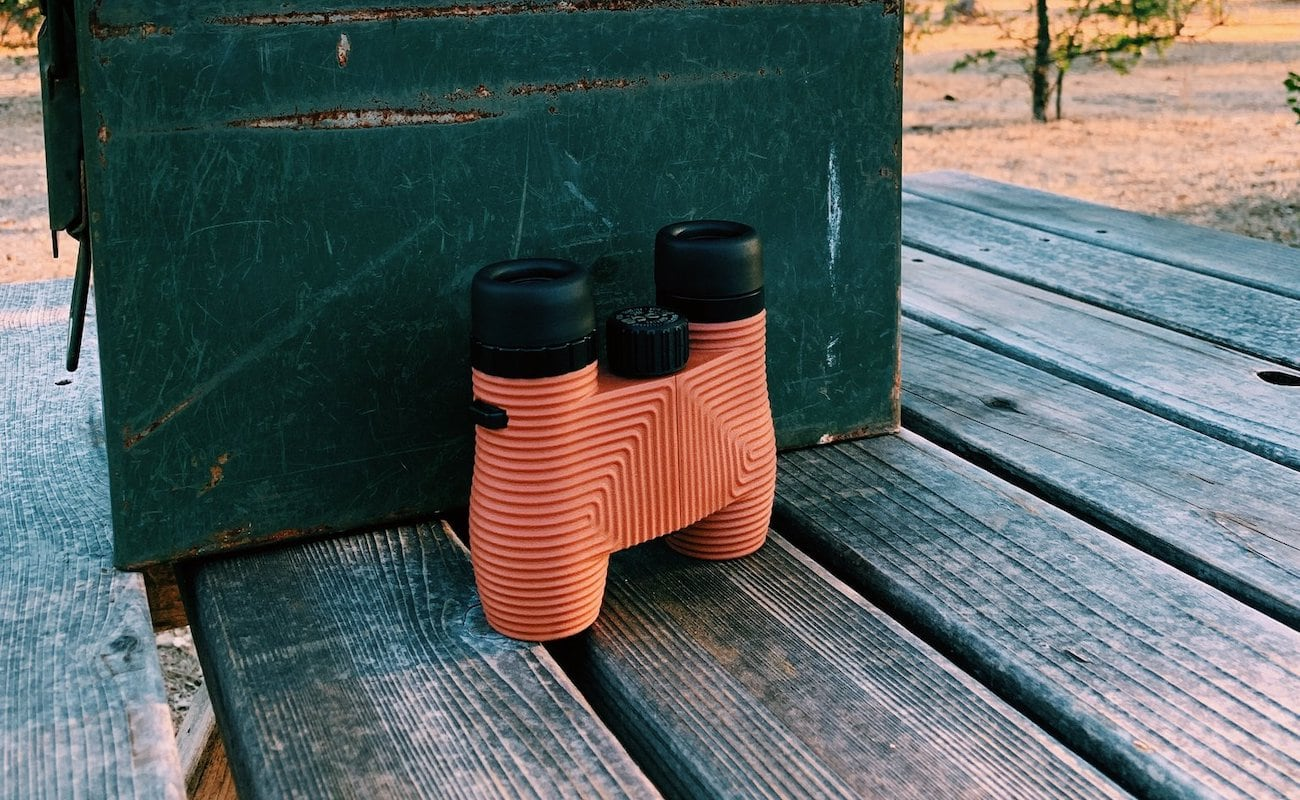Nocs Provisions Standard Issue 8×25: Flat Earth Limited Edition Waterproof Binoculars magnify up to 8x
