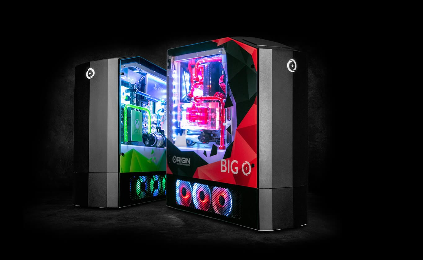 Origin PC Big O All-In-One Gaming Machine incorporates three consoles in one