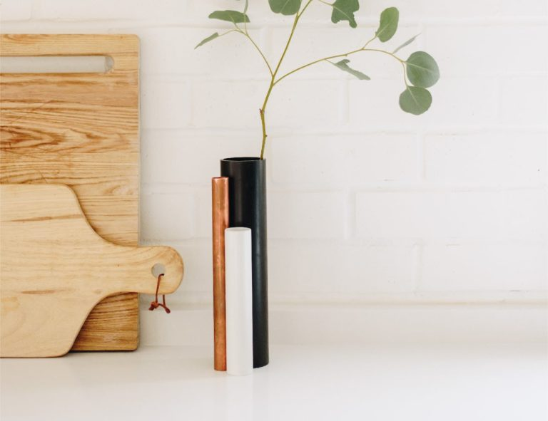 Pipe+Vase+Repurposed+Flower+Holder+makes+beautiful+use+of+construction+scraps