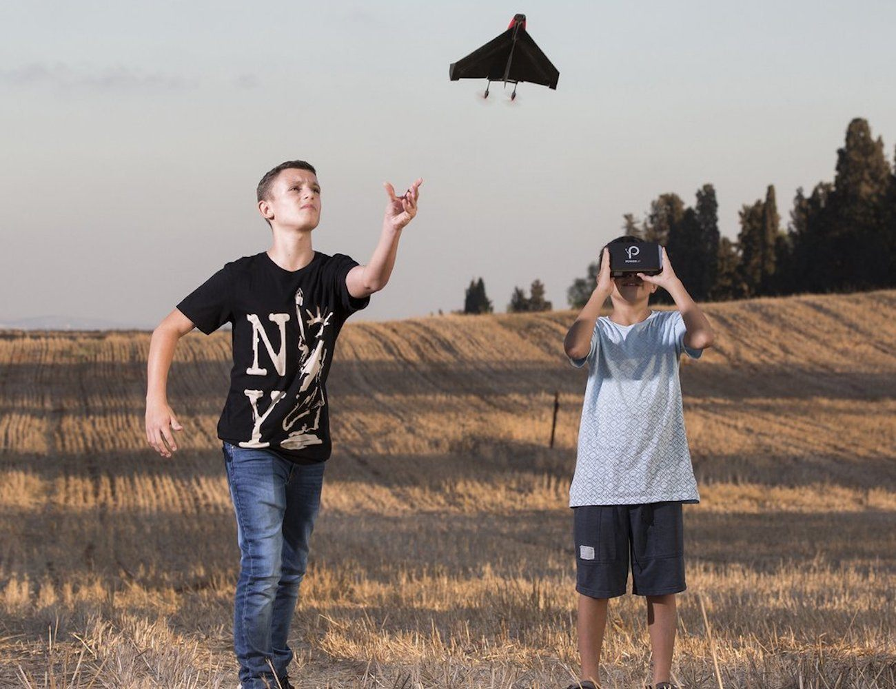 PowerUp FPV Paper Airplane Drone