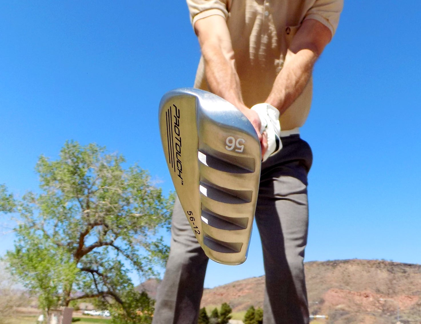 ProTouch® Sole Channel Sand Wedge Golf Club gives you a clear shot out of the sand trap