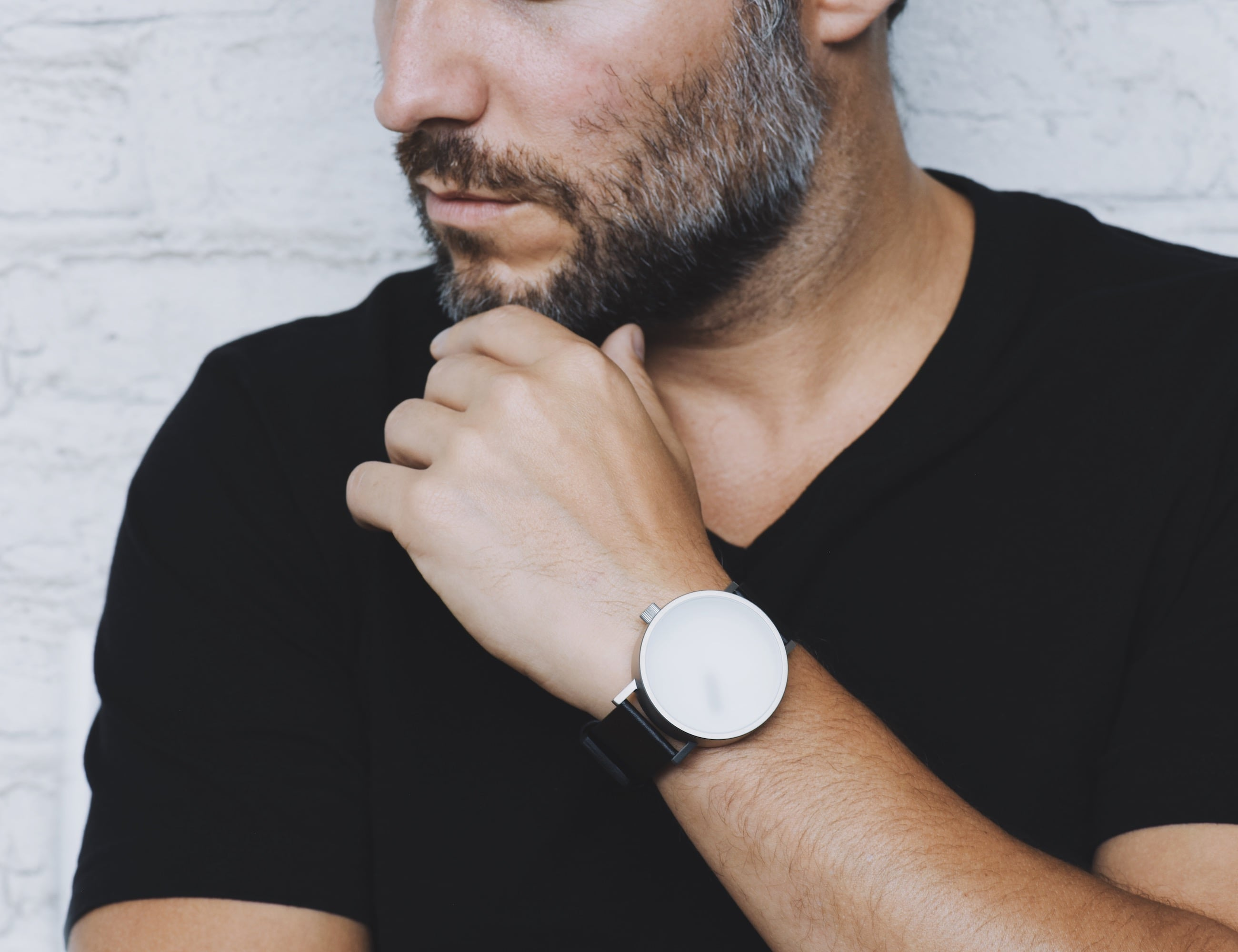 Relax by StudioDWAS Blurred Glass Poetic Timepiece helps you live in the moment loading=