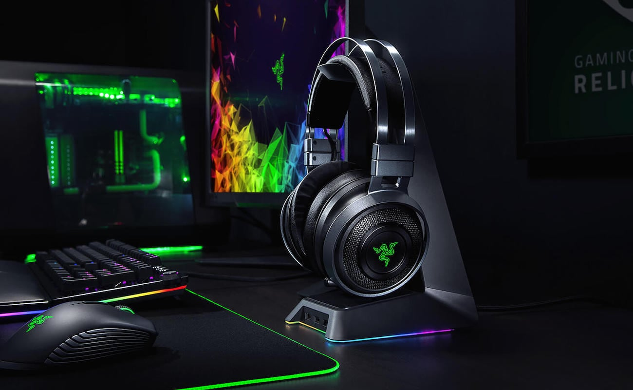 Razer Nari Ultimate Wireless PC Gaming Headset actually lets you feel sound effects