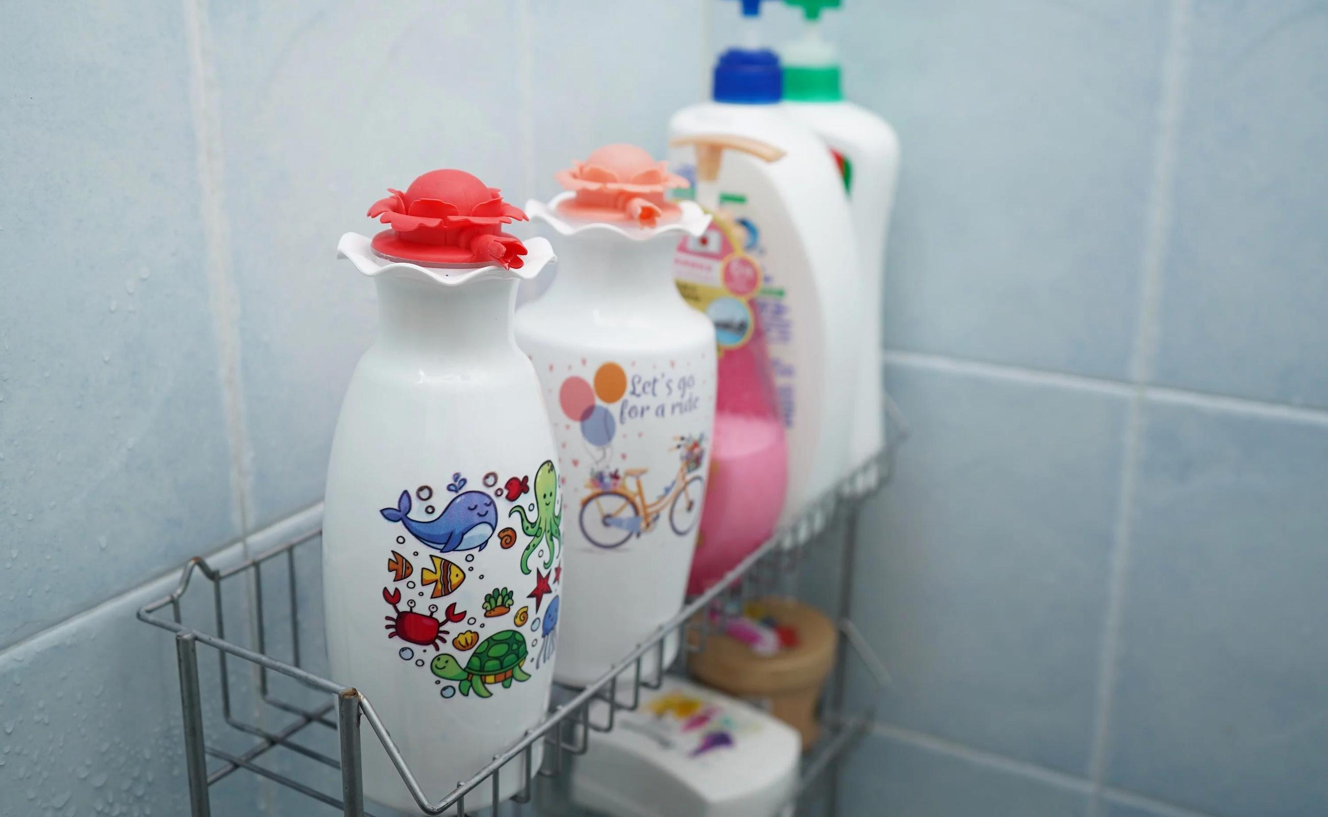 Recyclable Elastic Lotion Pump & Vase dispenses just what you need