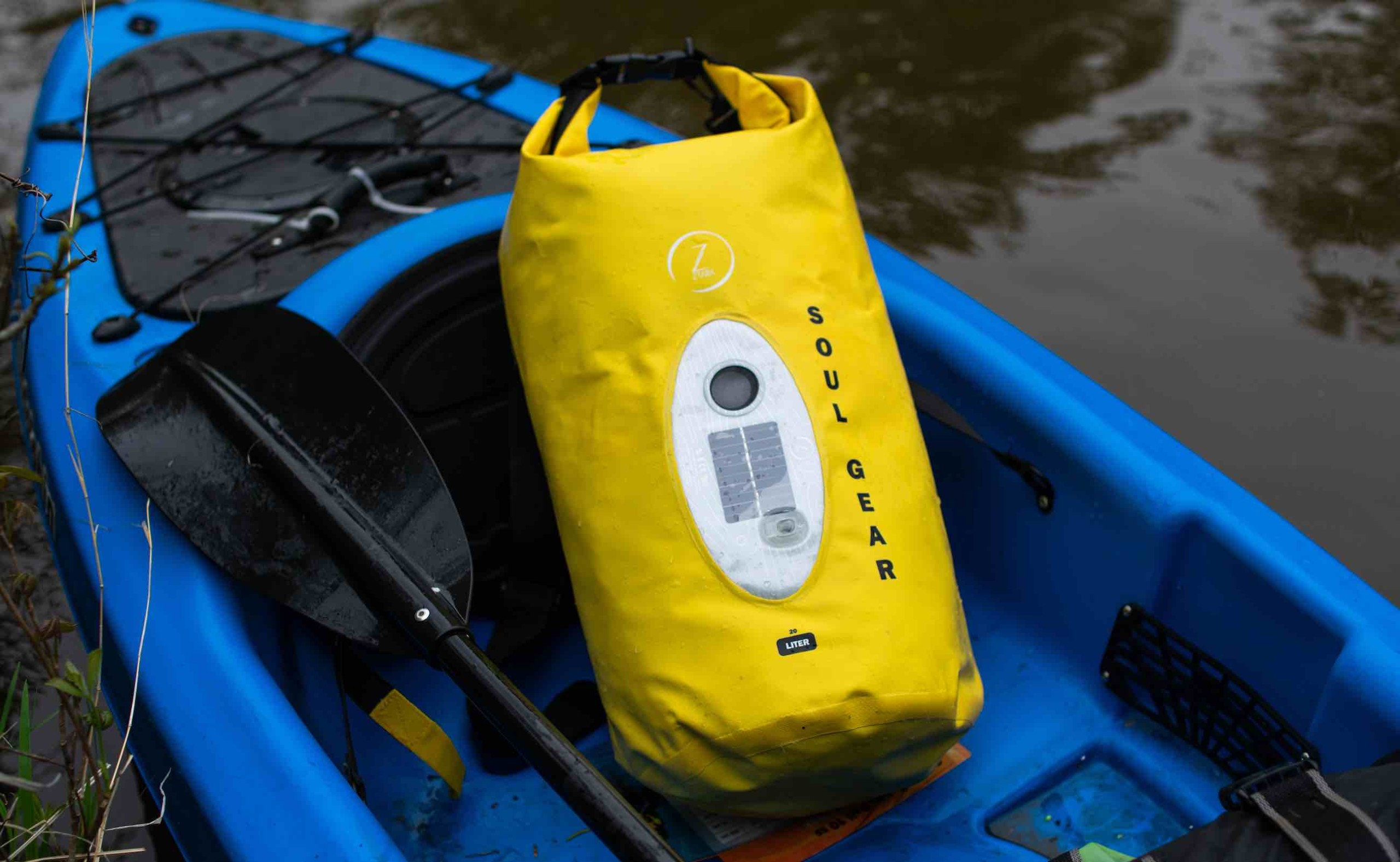 SOUL GEAR Waterproof Dry Bag Speaker combines two must-haves in one