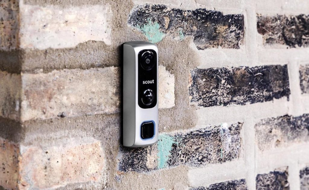 Scout+Video+Doorbell+Home+Alarm+provides+180%C2%B0+Field+of+View