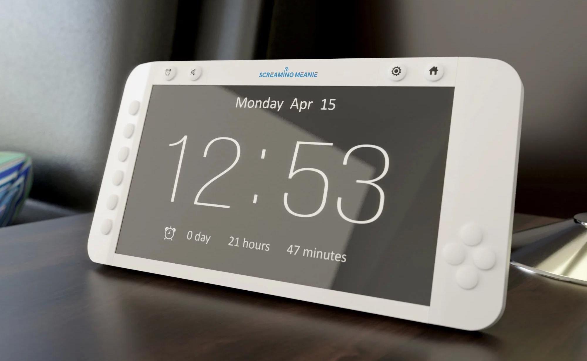 Screaming Meanie Forte Extra Loud Alarm Clock ensures you won't sleep in