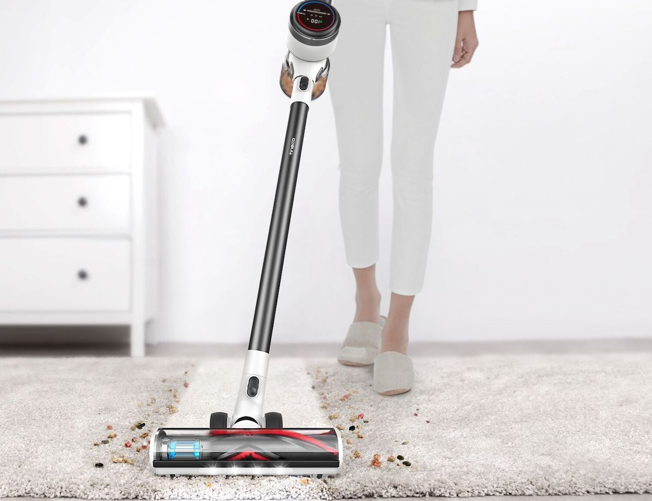 Tineco Pure One S12 Smart Vacuum Cleaner will find all the hidden dust in your home