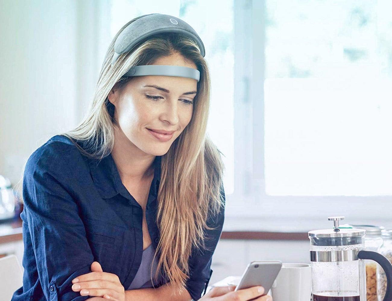 URGONight Brain Sleep Trainer teaches your brain how to sleep deeply