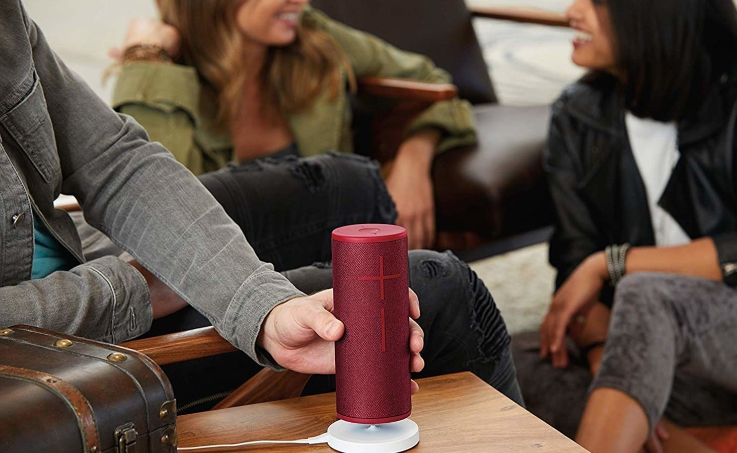 Ultimate Ears MEGABLAST voice-controlled Bluetooth speaker has 360º sound