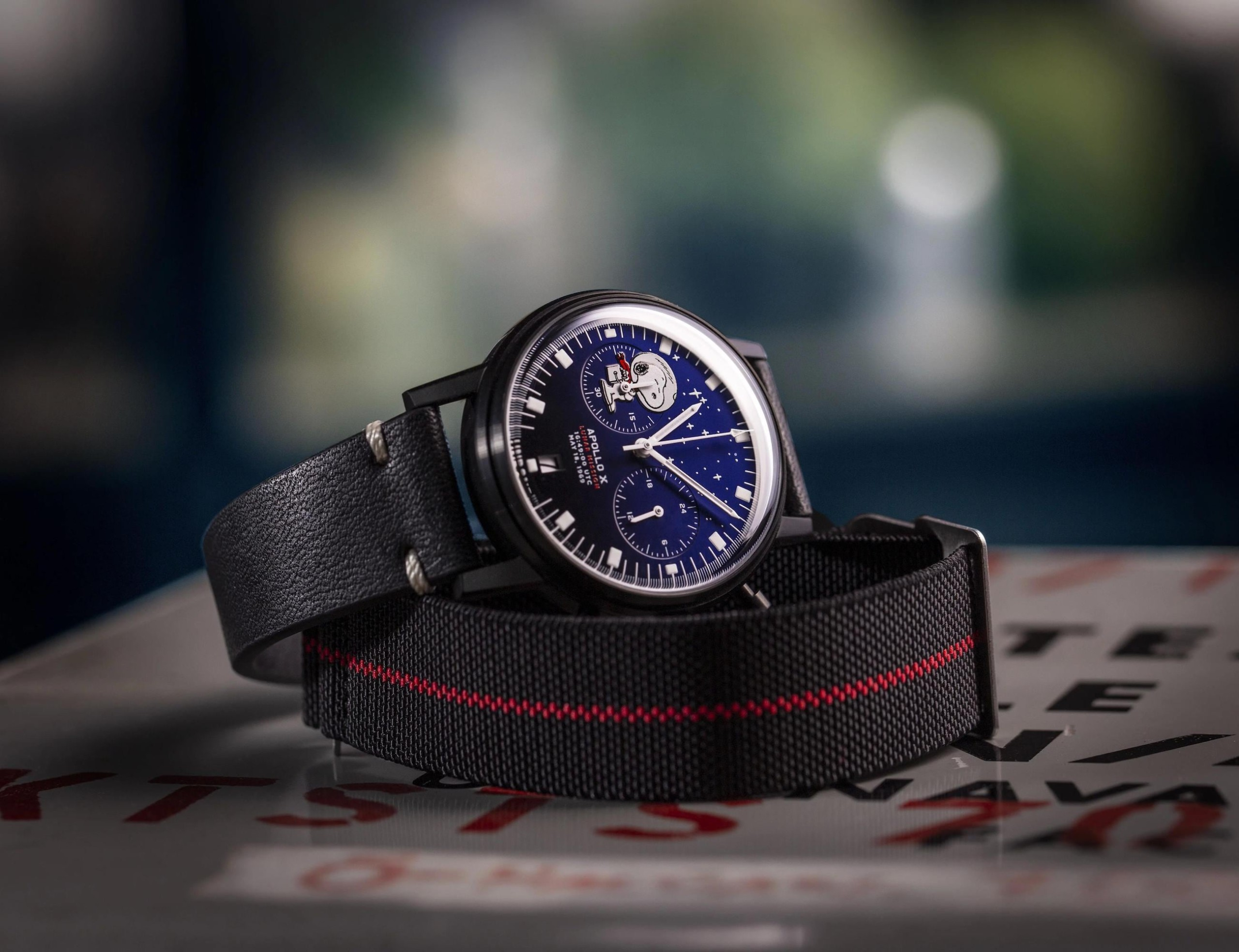 Undone LUNAR MISSION Apollo Tribute Watches pay homage to space exploration