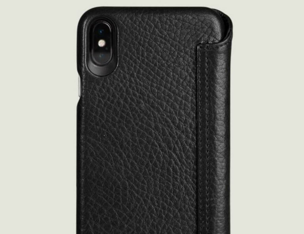 Vaja iPhone Xs Leather Wallet Case