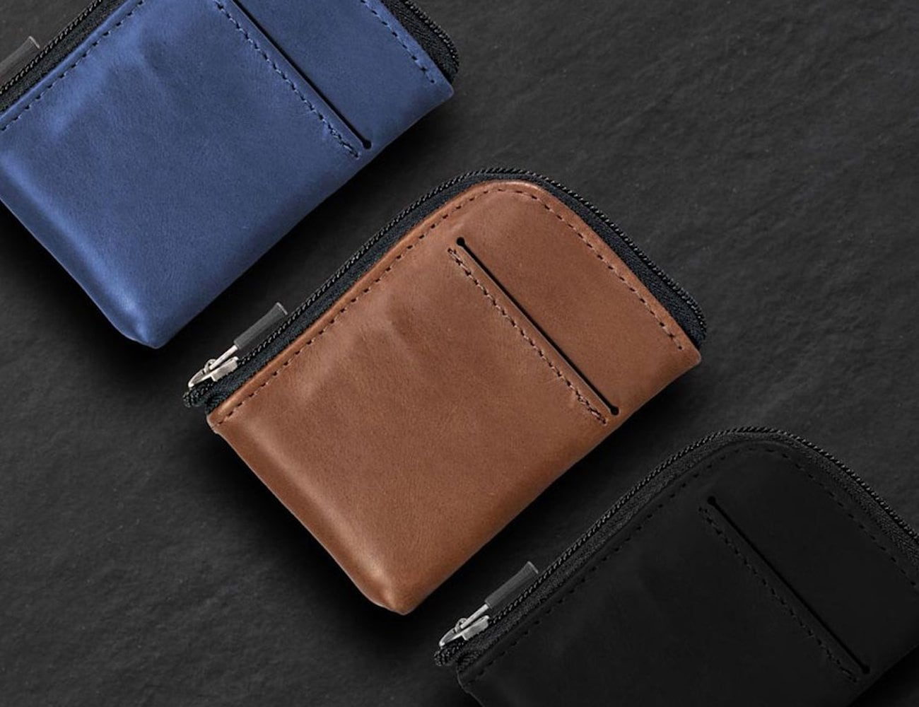 WaterField Designs Finn Access Wallet Leather Minimalist Everyday Carry holds all your essentials