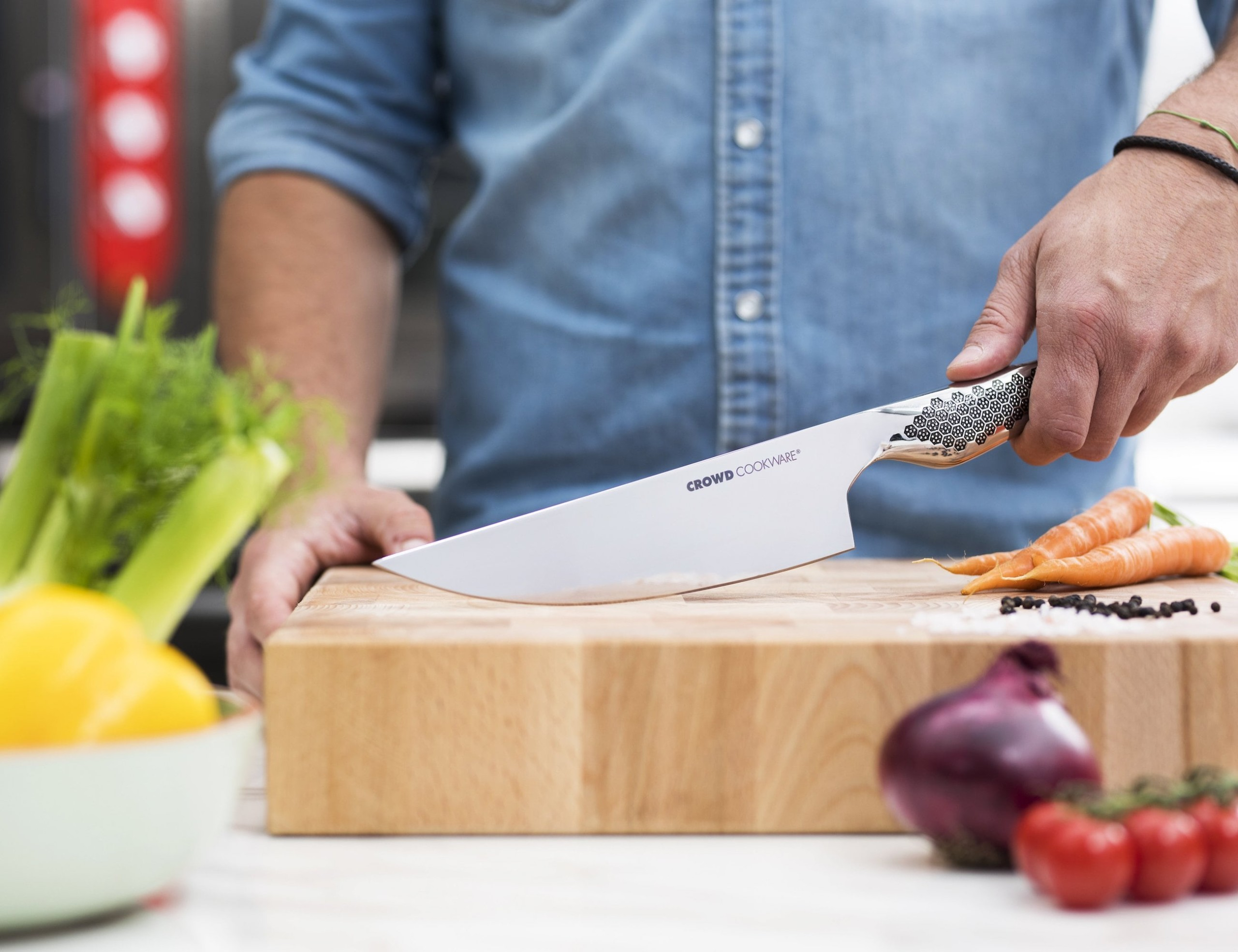 Wigbold Lifetime Sharp Chef's Knife is designed to last forever