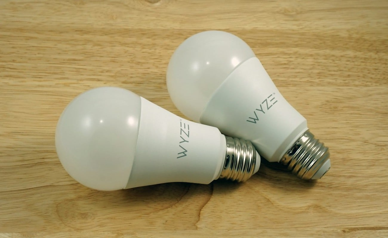 Wyze Bulb LED Wi-Fi Light can go on vacation mode to keep your home safe