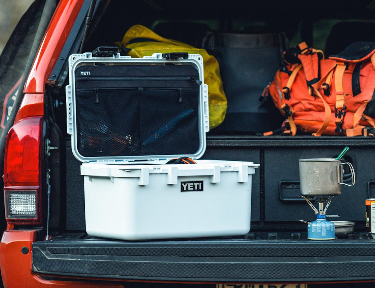 Yeti LoadOut GoBox 30 Nearly Indestructible Gear Case keeps all your outdoor essentials organized