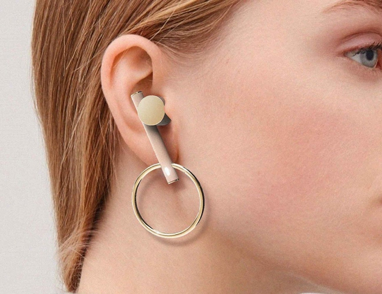 YoonJy Combination Earbud Earrings bring sound and style together