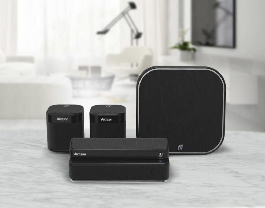 How to create the best home speaker system in your living room - Damson 03 0