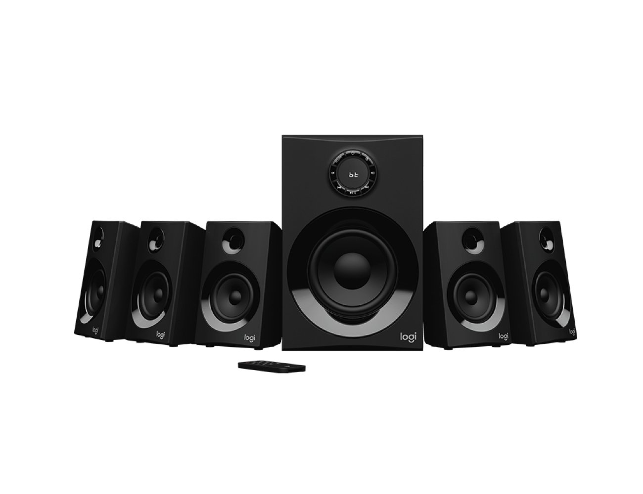 How to create the best home speaker system in your living room - Logitech Z606 01