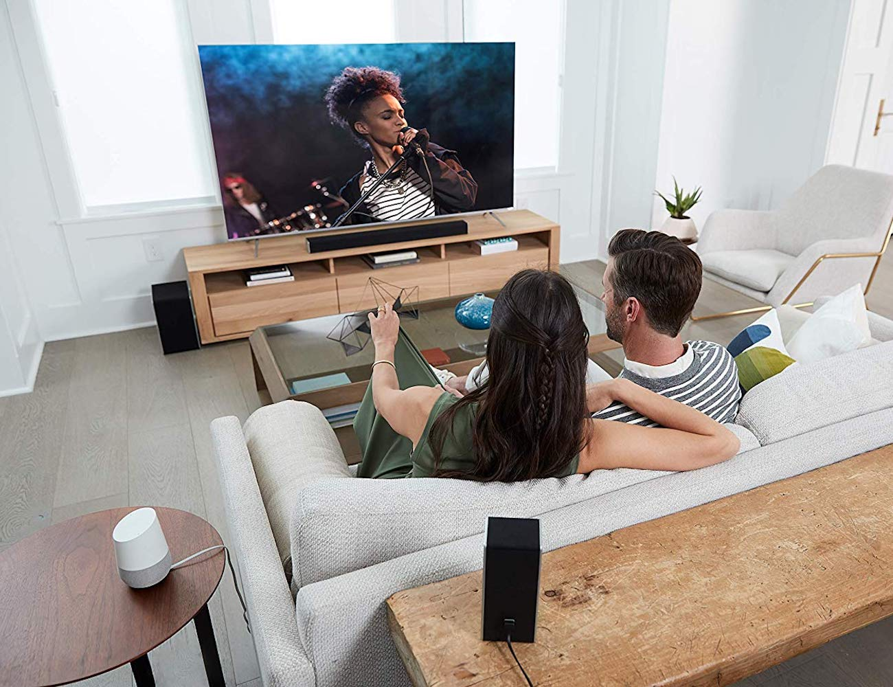 How to create the best home speaker system in your living room - Vizio 5.1.2 01