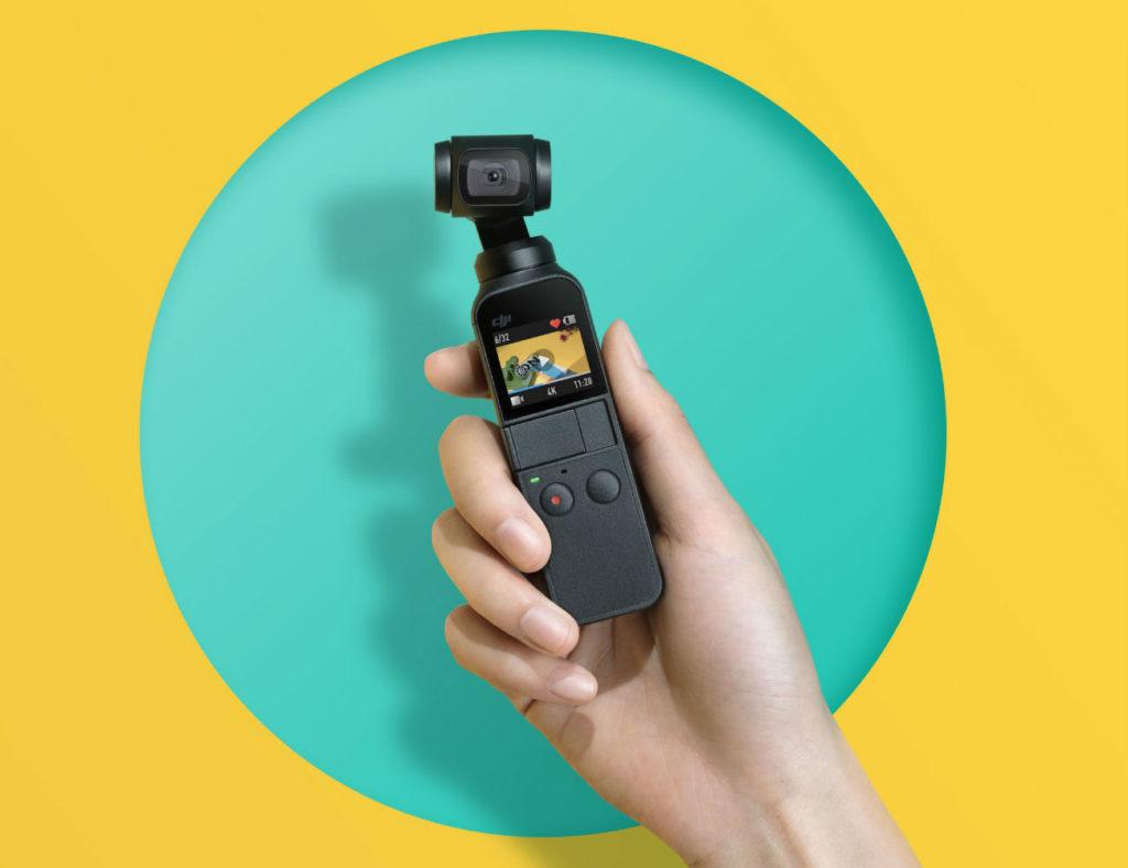 DJI Osmo Pocket Compact Smart Camera
